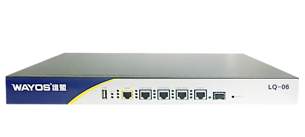 LQ-06四WAN千兆行为管理路由器